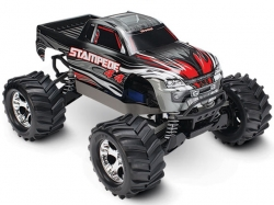 Traxxas STAMPEDE 4WD RTR Monster Truck 1:10 TQ 2.4GHz Weis..