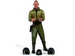 """Figur """"Corporal E.Stull"""" -stehend 1/16 Figuren von Walters.."""