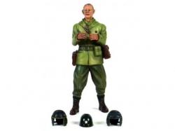 """Figur """"Captain Commander A.Ross"""" -stehend 1/16 Figuren von.."""