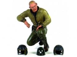 """Figur """"Sergeant B.Green"""" -kniend 1/16 Figuren von Waltersons"""