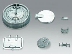 Luken-Set Metall für Panzer Tiger 1 1/16 von Torro