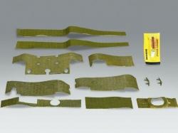 Set Zimmerit für Tiger 1 mittlere/spätere Version 1 1/16 v..