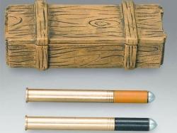 Granaten Metall mit Munitionskiste 1/16 von Torro