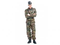 "Figur ""Richtschütze"" Tigerbesatzung -stehend 1/16 Figuren .."