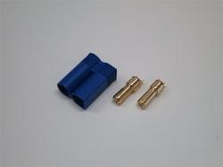 EC5 Goldstecker 5.0mm Stecker/Male mit Gehäuse 6Stk.