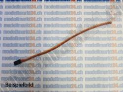 2Stk.Servokabel Graupner/JR 10cm gerade, Stecker