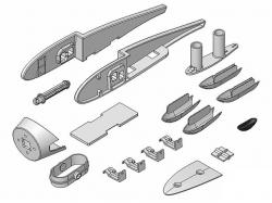 Kunststoffteilesatz Heron von Multiplex