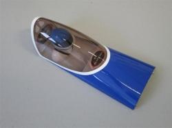 """Kabinenhaube Slick 61"""" blau von Skywing"""