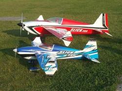 """Skywing Slick 360 56"""" Blau ARF"""