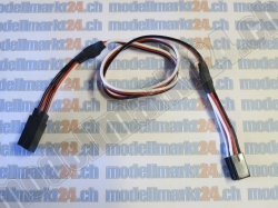 1Stk. X-Kabel Robbe/Futaba 45cm gerade