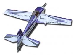 AeroPlusRC Laser 260 70E Violett/Weiss