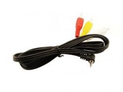 Fatshark A/V Stereo Kabel 90°-Klinke/Chinch 1m