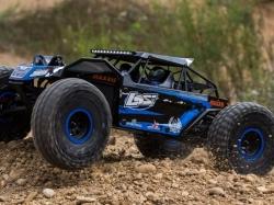 LOSI Rock Rey 4WD blau Rock Racer 1:10 RTR (mit AVC Techno..