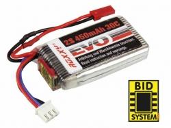 Roxxy EVO 450mAh 7.4V 30C 2S1P LiPo-Akku mit BID-Chip