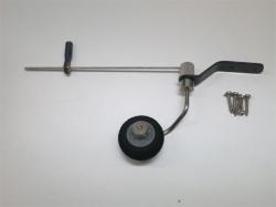 Spornrad-Set 50-70 Klasse von AeroplusRC, Rad 25mm