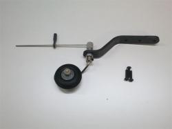 Spornrad-Set 30-35cc Klasse von AeroplusRC, Rad 33mm