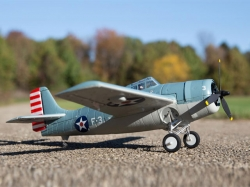 E-Flite UMX F4F Wildcat Spw.515mm BNF mit AS3X, RC-Modellf..
