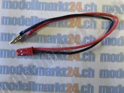 1Stk. Verbingungskabel JST Stecker auf 2.0mm Goldstecker
