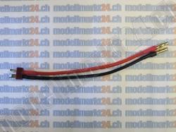 Ladekabel T-Plug Stecker auf 4.0mm Goldstecker 1Stk.