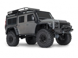 Traxxas TRX4 Land Rover Crawler Grau 1:10 4WD RTR, RC-Mode..