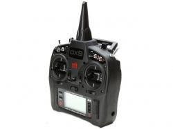 Spektrum DX9 Black DSMX 9-Kanal 2.4GHz, nur Sender, Teleme..