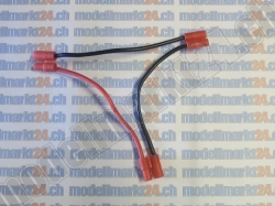 1Stk. Y-Kabel 2 x Bullet 3.5mm in Serie auf Bullet 3.5mm
