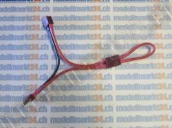 1Stk. Y-Kabel 2 x T-Plug Buchse in Serie auf T-Plug Stecke..