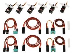 ServoSet mit Kabelsatz M6/UNI FUNRAY (komplett) von Multip..