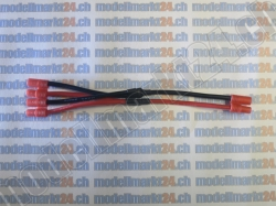 1Stk. Y-Kabel 2 x Bullet 3.5mm Parallel auf Bullet 3.5mm