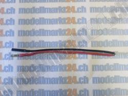 1Stk. Batteriekabel mit Goldstecker 2.0mm, 10cm