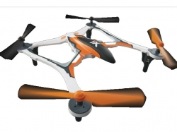 Dromida Vista XL-370 UAV Quadcopter RTF Orange, Drohne, Dr..