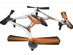 Dromida Vista XL-370 UAV Quadcopter RTF Orange, Drohne, Dr..