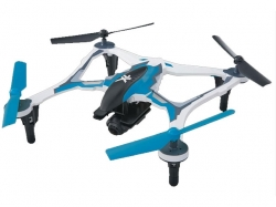 Dromida Vista XL-370 FPV Quadcopter RTF Blau, 1080p DroneV..