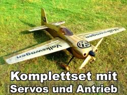 """AeroPlusRC Edge 540 V3 EX 76"""" Komplettset 3D/10S"""