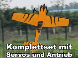 AeroPlusRC Corvus Racer 540 70E orange/schwarz Komplettset