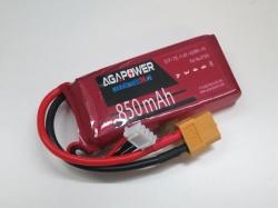 AGA-Power 3S-HvLi 850mAh 11,4V 75C 3S1P