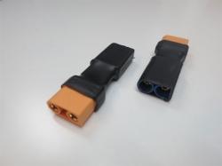 Adapter XT90 Buchse auf EC5 Stecker (1Stk)