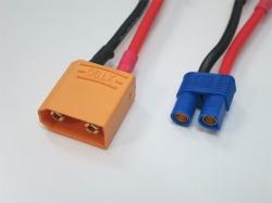 Adapter XT90 Stecker auf EC3 Buchse (1Stk)