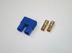 EC3 Goldstecker 3.5mm Buchse/Female mit Gehäuse 6Stk.