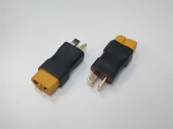 Adapter T-Plug Stecker auf XT60 Buchse (2Stk.)