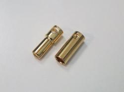 Bullet-Goldstecker 5.5mm (6 Paare) Typ2