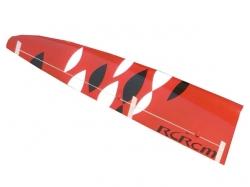 Flügel Links E-Sunbird/Sunbird GFK Rot/Weiss/Schwarz von R..