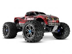 Traxxas E-Maxx Rot BL TSM 1:10 4WD Monstertruck ARTR, RC-M..