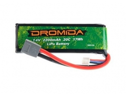 LiPo 2S 7.4V 2200mAh XL370 von Dromida
