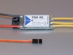 YGE 40A LV Regler Brushless ESC mit BEC 5.5V/3A