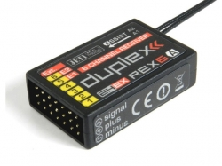 Jeti Empfänger Duplex Rex6A-Assist 2.4Ghz Telemetrie mit A..