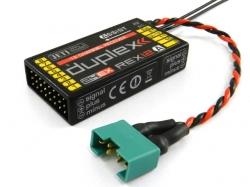 Jeti Empfänger Duplex Rex12A EPC-Assist 2.4Ghz Telemetrie ..