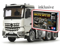 Tamiya Mercedes Benz Arocs 3363 6x4 CL.Space RC-Truck 1:14..