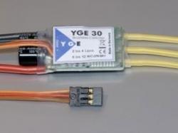 YGE 30A LV Regler Brushless ESC mit BEC 5.5V/2A