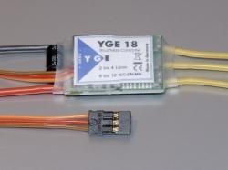 YGE 18A LV Regler Brushless ESC mit BEC 5.5V/2A